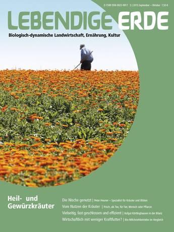 Ausgabe 5/2015 Titelthema: Heil- und Gewürzkräuter