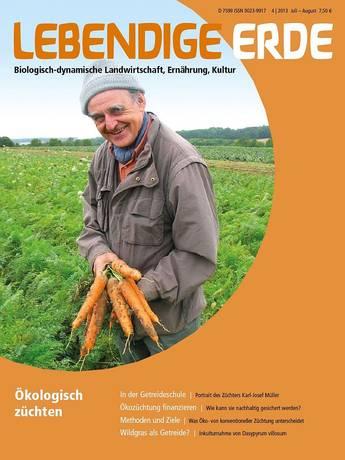 Ausgabe 4/2013 Titelthema: Ökologisch züchten