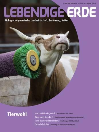 Ausgabe 34/2014 Titelthema: Tierwohl