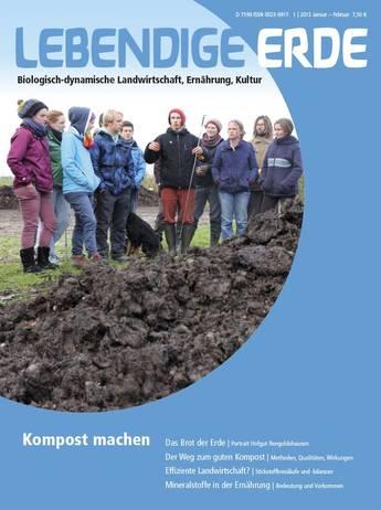 Ausgabe 1/2015 Titelthema: Kompost machen