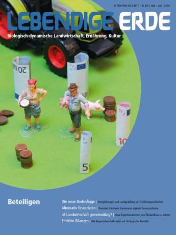 Ausgabe 3/2013 Titelthema: Beteiligen
