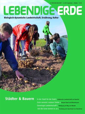 Ausgabe 5/2014 Titelthema: Städter & Bauern
